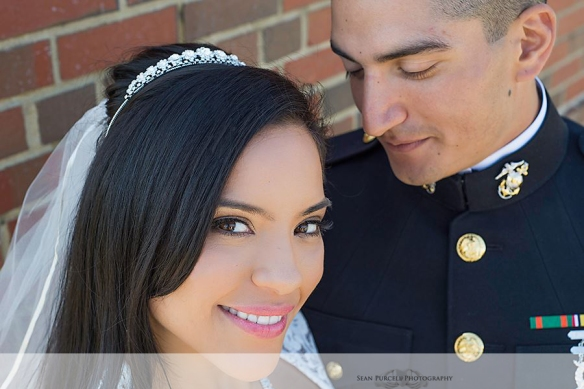 Marine Corps Wedding in Quantico Virginia