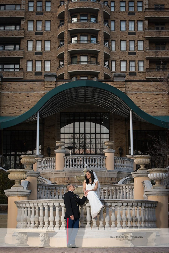 Marine Corps Wedding Omni Shoreham Hotel Washington DC