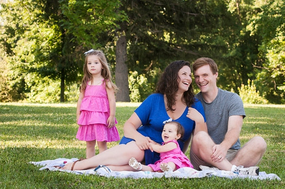 Family portrait, Sean Purcell Photography, Virginia Photographer